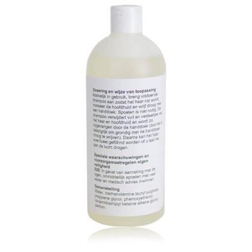 Shampoo zonder water instructies - Ansata